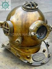 Antique Vintage Boston London Mark Morse Diving Divers Helmet Nautical Helmet