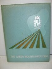 1964 Green Mountaineer, Otter Valley Union high School, Brandon Vermont Yearbook