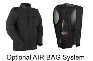 Furygan Costa Elastan (Airbag) Dehnbar Motorrad Textil Wasserdicht Ce Jacke