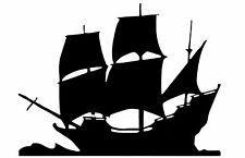 Cut Vinyl PARETE/AUTO Decalcomania/Adesivo, la spedizione in stile VELA 1 Barca dei pirati