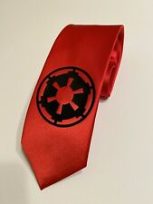 Star Wars Necktie, Imperial Logo , Cool And Stylish, Black Tie, Empire