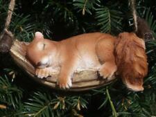 Eichhörnchen Deko Figur hängend schlafend lebensgroß  Garten Figur NEU