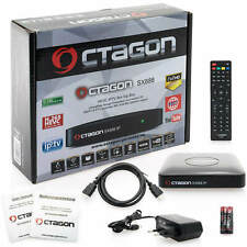 Octagon SX888 Mini HD IPTV Linux m3u Multistream Receiver MKV Ethernet Xtream