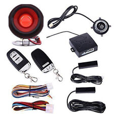 Car Alarm System Keyless Entry & Engine Ignition Push Starter Button Kit Valid