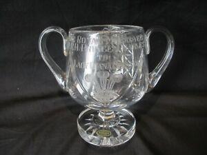 Stuart Crystal, Charles & Diana Marriage Commemorative Twin Handled Goblet /vase