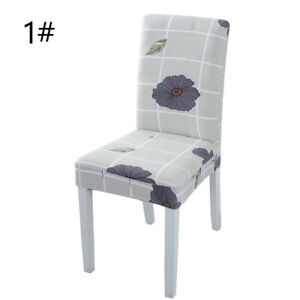Banquet Washable Cover Removable Slipcover Hotel Custom Table Stretch Chair 1PC