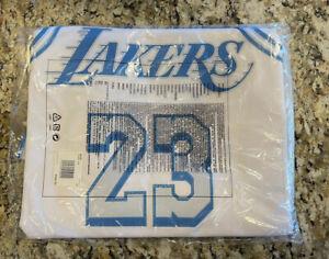 LeBron James LA Lakers 2021 Authentic City Edition Jersey Size S (40)