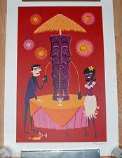 Josh Agle SHAG Art Print Benevolent Idol S# 200 Tiki Drink Mug Modern Pop Poster
