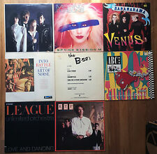 "New Wave 80's vinyl LOT #1 PROMO 12"" Art of Noise Pretenders B-52's Human League"