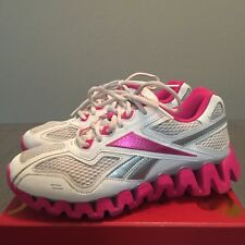 eb1c91ec0ac9f9 Reebok Zig Turf Tech Women s Sz 6 Running Cross Training Cross fit Fuel  Shoe Zip