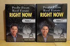Dean Graziosi-Profit From Real Estate Right Now- 2 Seminar Workbooks & 9 Discs