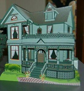 NEW inBOX Shelia TINKER TOY HOUSE Howell Michigan VICTORIAN Monroe Stull Family