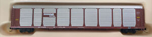 Con-Cor N Scale Norfolk Southern Tri-Level Auto Rack car NS 171334 MTL Couplers