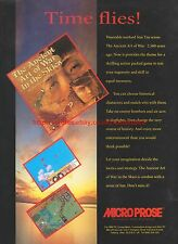 The Ancient Art Of War In The Skies Micro Prose 1993 Magazine Advert #7283