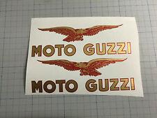decalcomanie adesivi decals stickers TANK MOTO GUZZI FLORIDA SERBATOIO ROSSO ORO