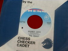 BILLY STEWART~SECRET LOVE~NEAR MINT~LOOK BACK AND SMILE~CHESS~ NORTHERN SOUL 45