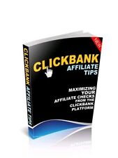 Clickbank Affiliates ebook-pdf master resell rights Free shipping