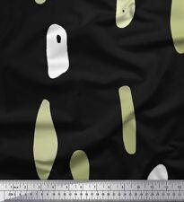 Soimoi Fabric Brush Stroke Abstract Printed Fabric 1 Yard - AB-6A