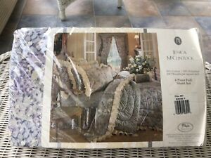 NOS Factory Sealed Jessica McClintock 4 Piece Full Sheet Set - Sonoma