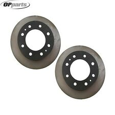 Chevrolet Express 3500 Silverado 3500 Set of 2 Disc Brake Rotors 40509077