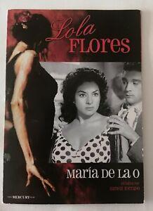 MARIA DE LA O - DVD - LOLA FLORES - RAMÓN TORRADO - ANTONIO GONZALEZ - ED CARTON