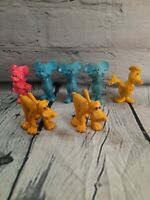 Vintage Mickey Minnie Mouse Donald Duck Goofy Rubber Toy Lot Figures Walt Disney