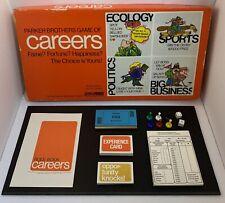 Vintage Careers Board Game COMPLETE 1971 Parker Brothers
