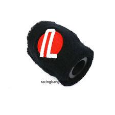 1 PCS Black Password JDM Car Reservoir Tank Oil Cover Sock Racing Tank Sock