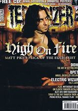 HIGH ON FIRE / DOWN / OPETH / ELECTRIC WIZARD	Terrorizer	no.	164	Dec	2007