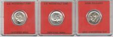 3 Denver Mint Roosevelt Dimes  1962+ 1963+ 1964