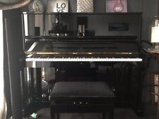 Piano Petrof 2004, model 125-3, noir/vernis noir, état comme neuf