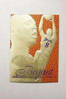 1996-97 KOBE BRYANT FLAIR SHOWCASE ROOKIE CARD RC MINT 23K GOLD PURPLE PRINT #LK