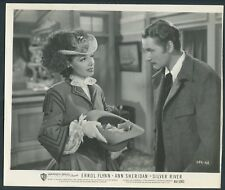ANN SHERIDAN ERROL FLYNN in Silver River '48 HAT MONEY