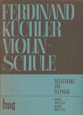 Ferdinand Küchler Violinschule  Band II Heft 4