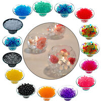 500pcs Water Aqua Soil Crystal Bio Gel Balls Beads Vase Table Decoration UK