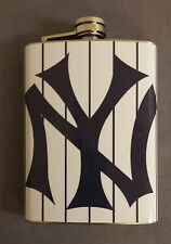 New York Yankees Classic Logo 8oz Stainless Steel Flask