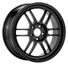 17x8/9 Enkei RPF1 5x114.3 +45 Black Rims Fits Honda S2000