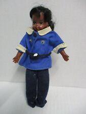 BARBIE Puppe Tutti schwarz mit Anzug blau 60er Jahre MATTEL 17 cm