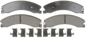 Disc Brake Pad Set-Ceramic Disc Brake Pad Rear,Front ACDelco Advantage 14D1411CH