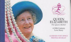 Guernsey 1999 - Queen Elizabeth The Queen Mother - Prestige Booklet SB66