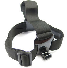 GoPro Black Head Mount Strap for GoPro 4, 3+, 3, 2,  HD original with steel nut