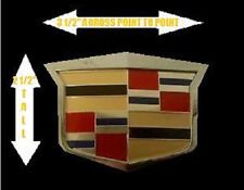 Cadillac 2003 CTS-V Style AFTERMARKET Grill CREST Emblem!!