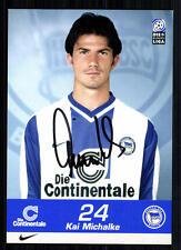Kai Michalke Hertha BSC Berlin 1999-00 TOP AK + A 72669