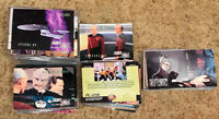 Star Trek The Next Generation Trading Card Lot With Bonus Stickers & Movie Cards