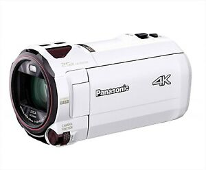 NEW Panasonic HC-VX990M-W 64GB 4K Video Camera White Japan Domestic Version