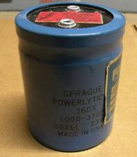 Sprague 36DX 1000-350DC Capacitor