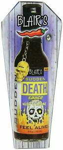 Blairs Sudden Death Sauce with Ginseng Habanero Pepper  in Coffin