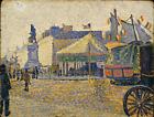Place De Clichy Paul Signac Fine Art Print on Canvas HQ Giclee Poster Repro 8x10