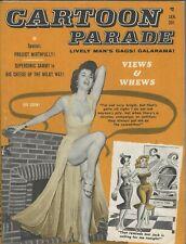 Humorama Cartoon Parade January 1962 Bill Ward Bill Wenzel Vintage Cartoons
