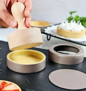 Cake Mold Loose Bottom Mini Round Shaped Mousse Stainless Steel Baking Rings New